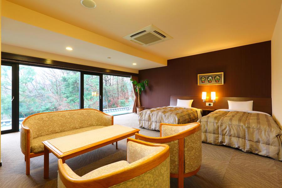 Route Inn Grantia Dazaifu (O) Twin Room Main Building