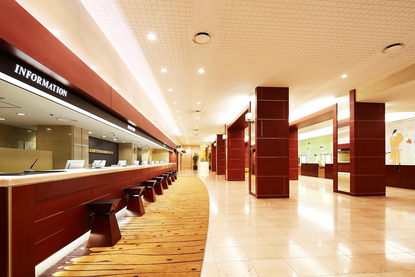 Lobby - Hotel New Hankyu Osaka (Official)