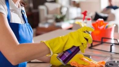 تنظيف المطبخ