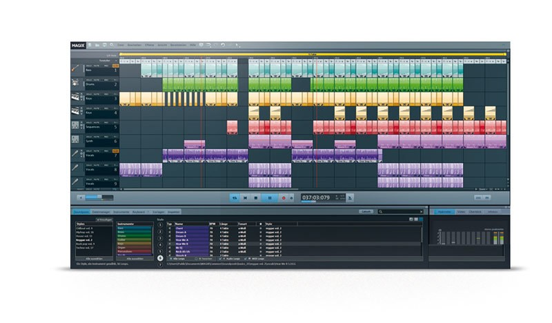 Music maker software