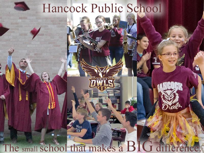 Hancock National Blue Ribbon School Photo