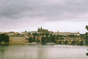 "Prague in Czech Republic.  That's a 12 century old castle and 7 century old bridge you cross to get to it.  Old and ""cultured seem to go hand in hand"