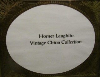 Homer Laughlin Vintage China Collection