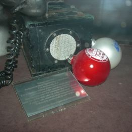 telephone box, display rm.