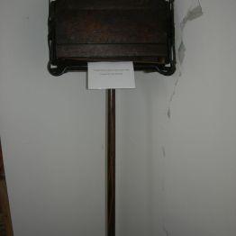 vintage carpet sweeper, display rm.