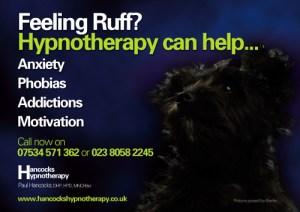Hancocks Hypnotherapy poster