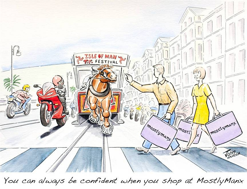 MostlyManx TT 2010 Cartoon