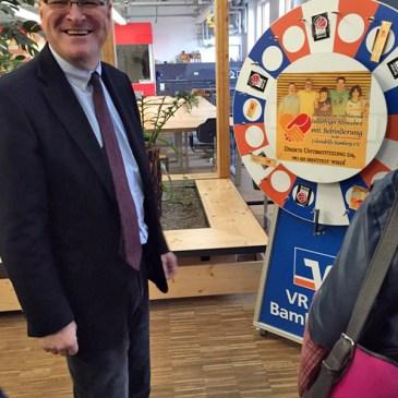 """Besuch von Oberbürgermeister Andreas Starke bei der Veranstaltung """"Bevor des erschta Lichtla brennt"""""""
