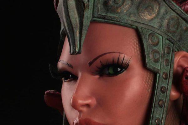 Beastly Beauties - Medusa Bust