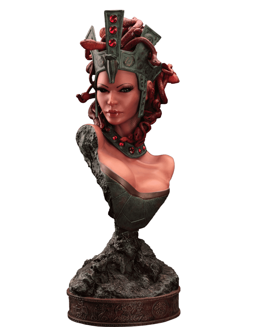 HMO's Medusa Statue Bust