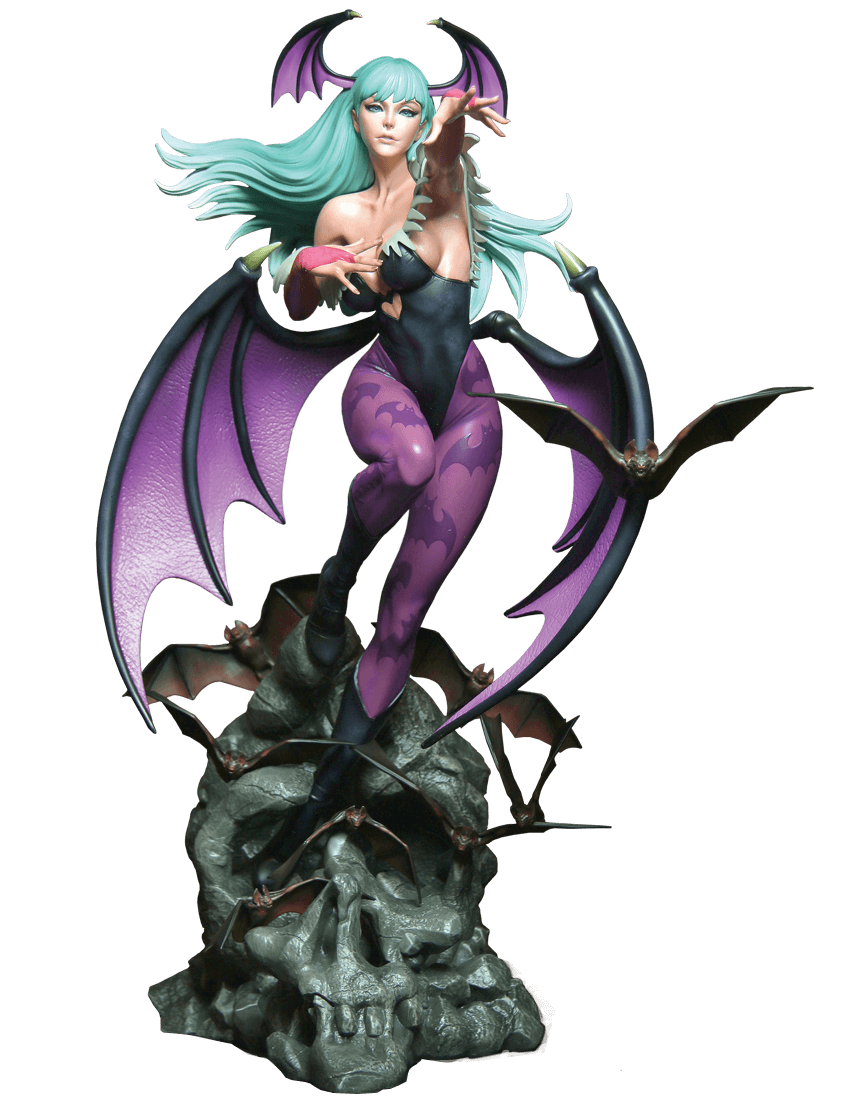Capcom's Morrigan