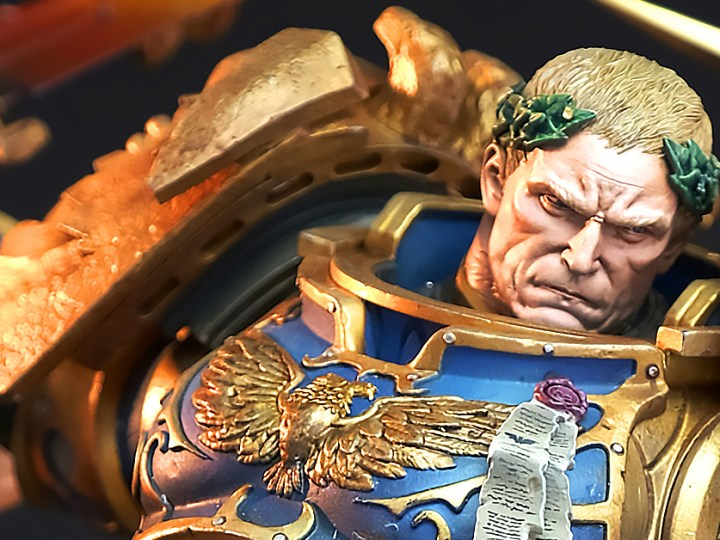 [3 Weeks to Launch!] Guilliman vs CSM 1/6 Diorama comes with 2 Portraits