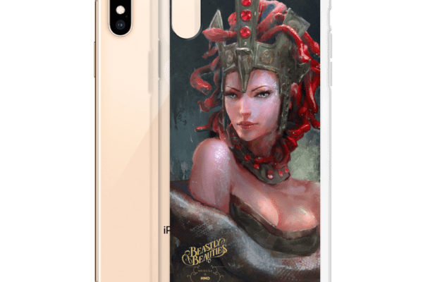 Beastly Beauties Medusa iPhone Case