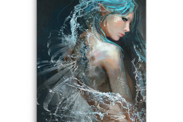 Beastly Beauties – Siren Premium Canvas Print