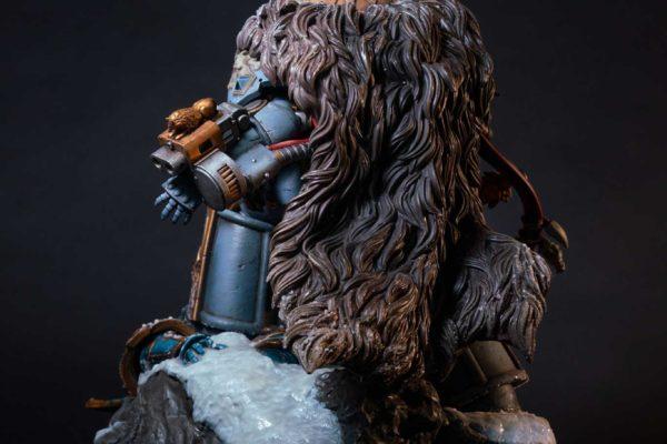 Logan Grimnar Statue