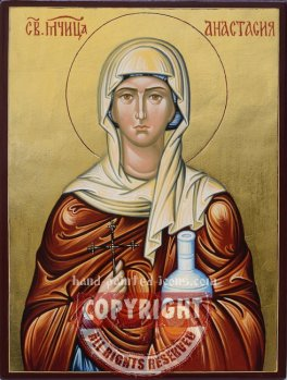 Saint Anastasia- hand-painted-icon