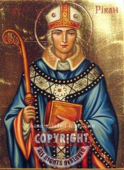 St Piran- hand-painted icon