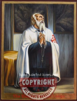 The Blessed Bartolo Longo- hand-painted icon