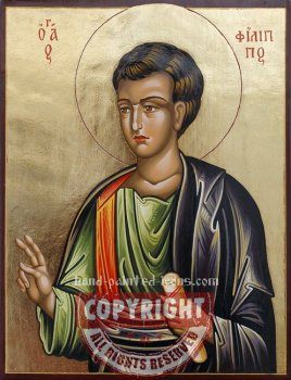 St Apostle Philip- hand-painted icon
