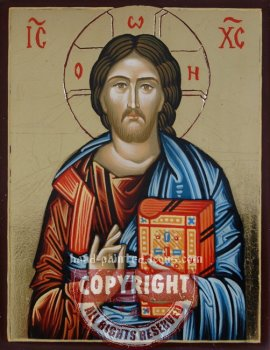 Christ-Pantocrator-v3-hand-painted-icon
