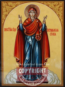 Mother of God- Unbreakable Wall-hand-painted-icon