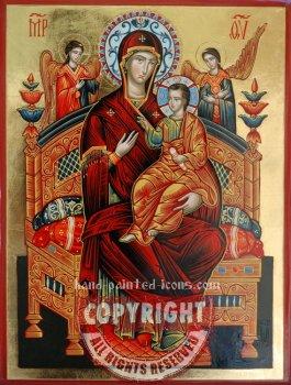 Panagia Pantanassa-Vsetsaritsa-40x30-hand-painted-icon
