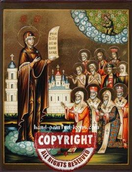 The Mother Of God- Bogolyubskaya-hand-painted-icon