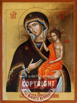 The Mother of God -The Nurturer-hand-painted-icon