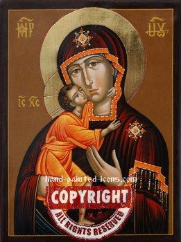 The Theodorovsk-Feodorovskaya Icon of The Mother of God-v2-hand-painted