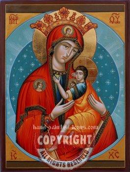 Arapetskaya Mother of God- hand-painted icon
