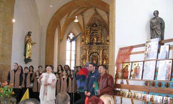 Charity exhibition of Orthodox icons - Austria, 2005