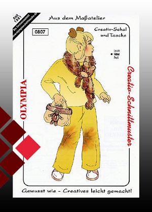 Schnittmuster Kinder Schal gr0807
