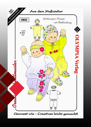 Schnittmuster Puppe gr0603
