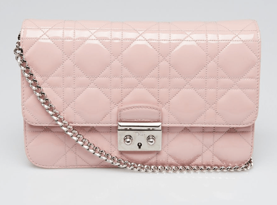 Dior pink hangbags