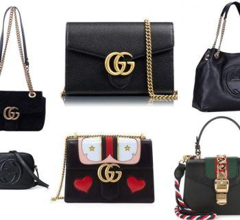 Gucci bags in black