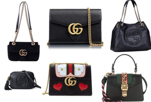 Gucci bags in black