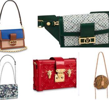 The Louis Vuitton bags