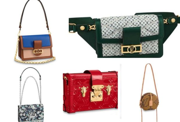 The Louis Vuitton bags