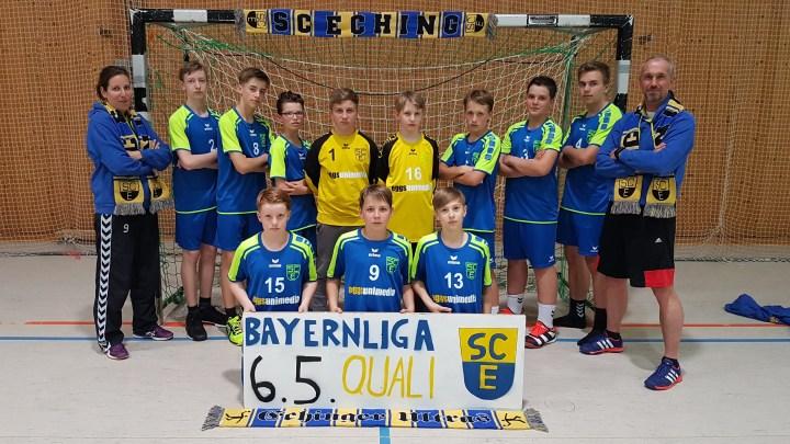 Der Traum geht weiter … Bayerns C-Jugendelite zu Gast in Eching!