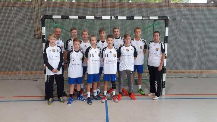 Große Ehre für die männliche C-Jugend!