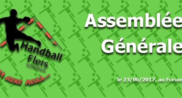 Assemblée Générale saison 2016 – 2017