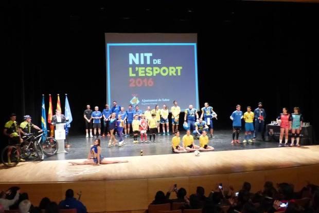 Les representants del club que ens van sorprendre en l'actuació del començament.