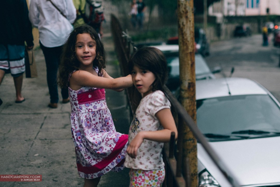 little girls in rio de janeiro brazil