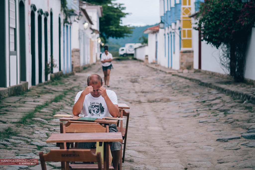 deep in thought paraty