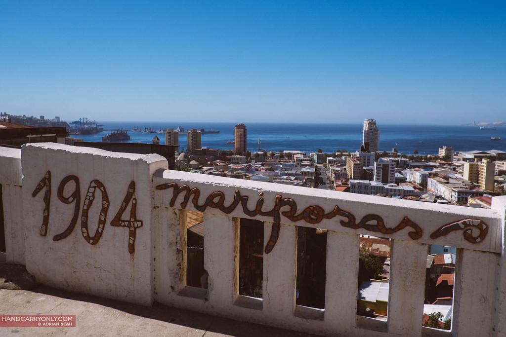 cerro mariposas, valparaiso, chile