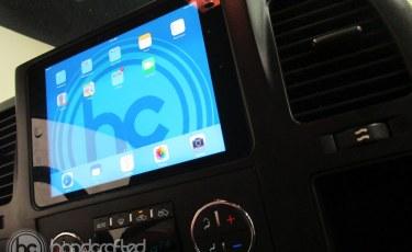 Silverado Sierra iPad install