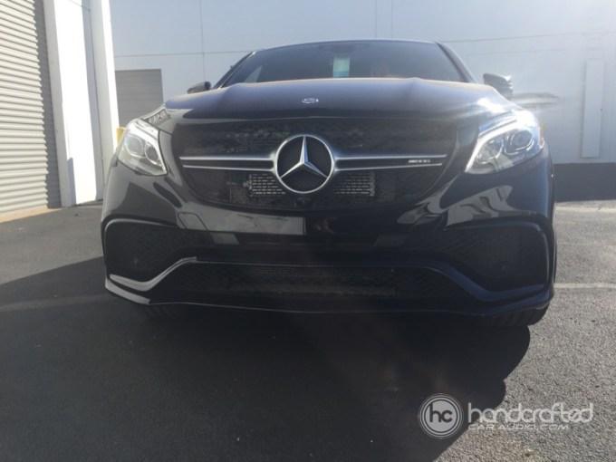 Mercedes-Benz GLE63 S Custom Radar