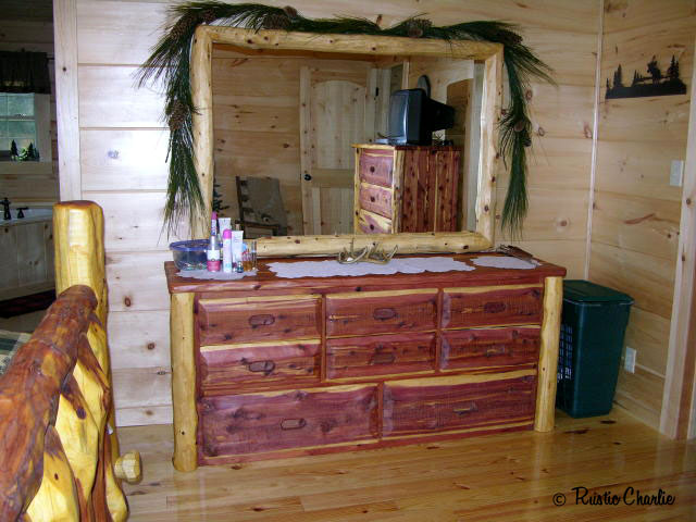 One Of A Kind Handmade Rustic Cedar Furniture Lodge