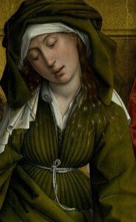 Weyden,_Rogier_van_der_-_Descent_from_the_Cross_-_Detail_Mary_of_Clopas,_Saint_John_the_Evangelist_and_Mary_Salome (2)