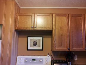 Cabinetry without range hood